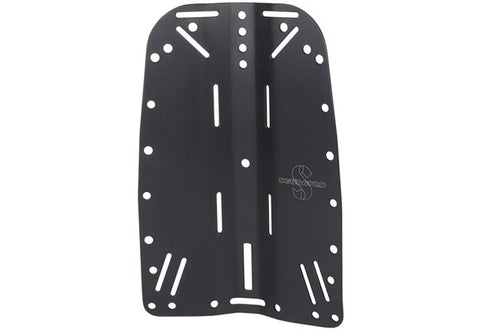 Backplate-Stainless Steel Black