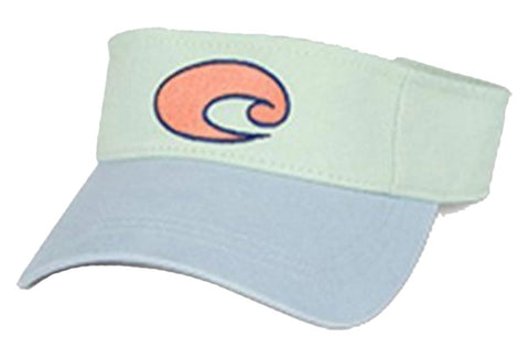 Costa Del Mar Cotton Visor Carolina Blue