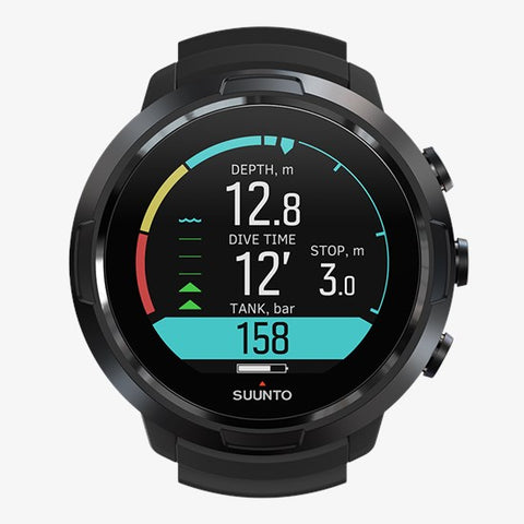 Suunto D5 Scuba Computer - All Black