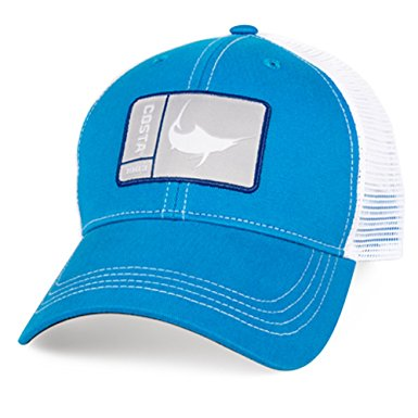 Costa Del Mar Original Patch Marlin Hat Costa Blue/White