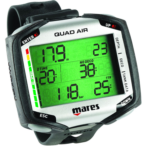 Mares Quad Air Scuba Dive Computer