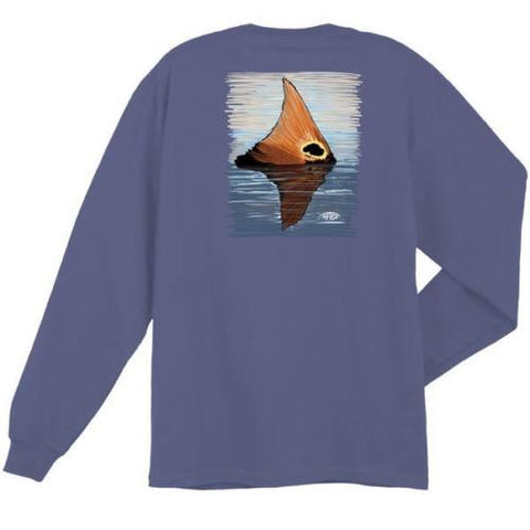 Red Tail Mens Long Sleeve Tee