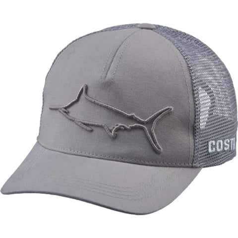 Costa Del Mar Stealth Marlin Trucker Grey Hat