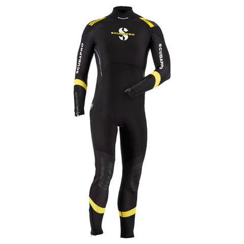 ScubaPro 3mm Sport Steamer Mens Black/Yellow Wetsuit
