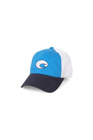 Costa Del Mar Twill Cap Blue/Navy/White