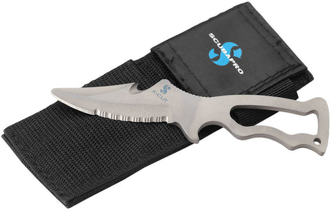 X-CUT Titanium Knife with nylon sheath
