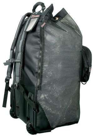 Wheeled Mesh Backpack