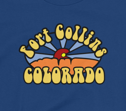 Fort Collins Groovin' Women's Ringspun T shirt
