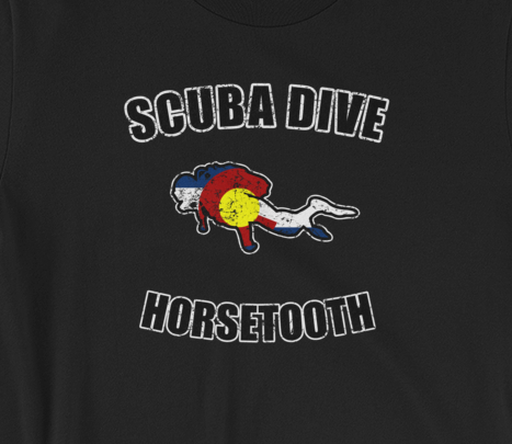 Scuba Dive Horsetooth T shirt