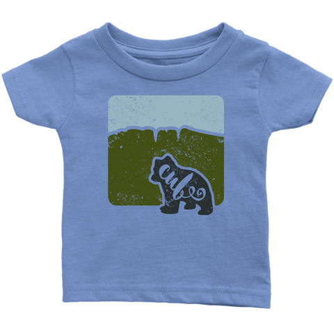 Bear Cub Infant T shirt - Green Hills