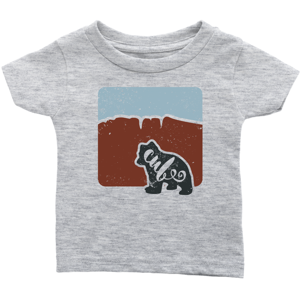 Bear Cub Infant T shirt - Red Hills