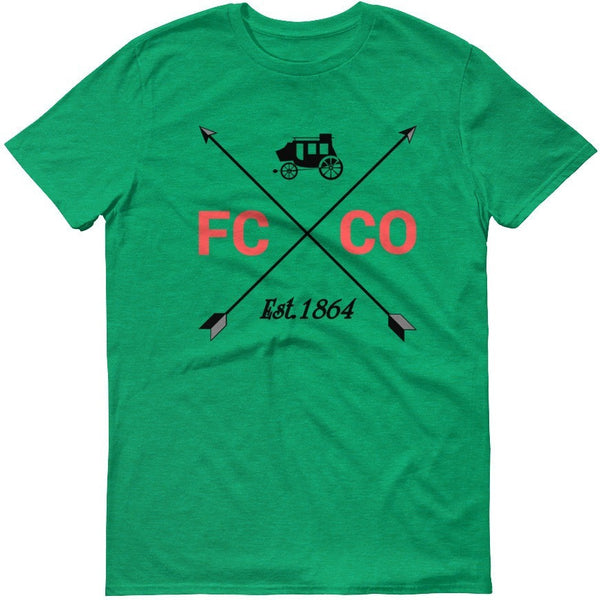 Unisex Overland Coach Short sleeve t-shirt