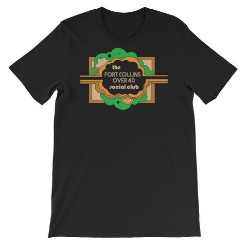 The Fort Collins Over 40 Social Club Meetup - E Co. T-shirt