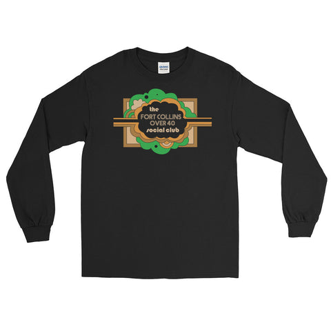 The Fort Collins Over 40 Social Club Meetup - Long Sleeve E Co. T-shirt
