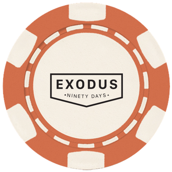 Exodus 90 Challenge Coin - Pack of 5 Coins