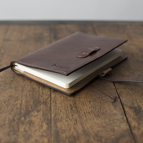 Handmade Leather Journal Cover
