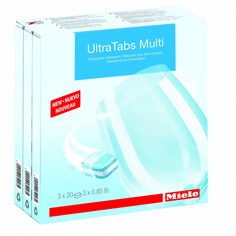 Miele Care Collection Dishwasher Detergent Tabs - Carmel Vacuum