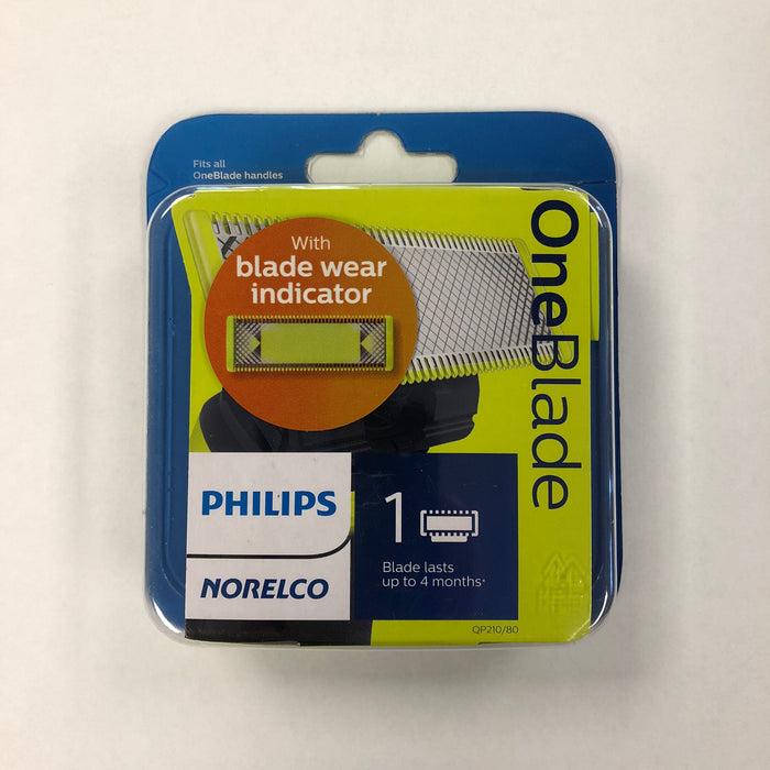 Philips Norelco OneBlade Replacement Blade, 1 Pack - QP210/80