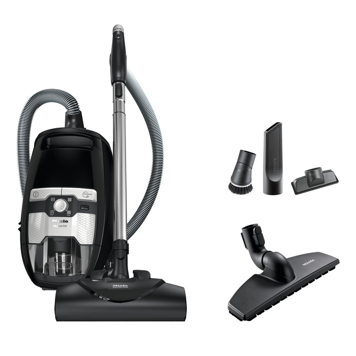 Miele CX1 Blizzard Electro+ Bagless Canister Vacuum