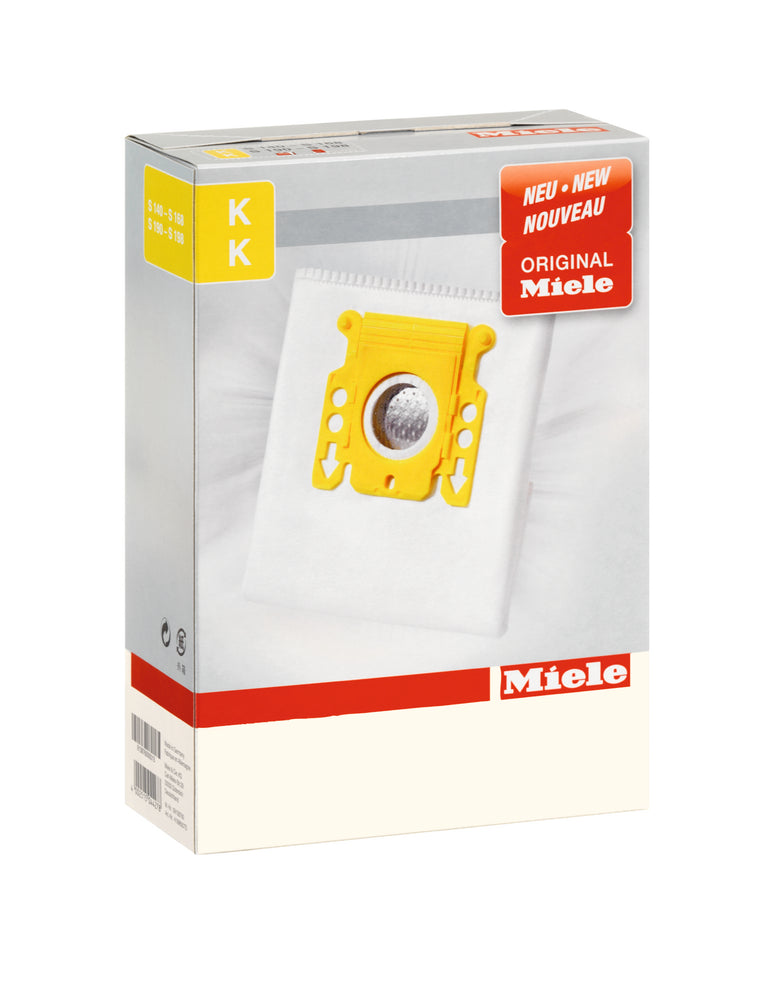 Miele AirClean 3D Efficiency Dust Bag, Type KK, 5 Bags & 2 Filters