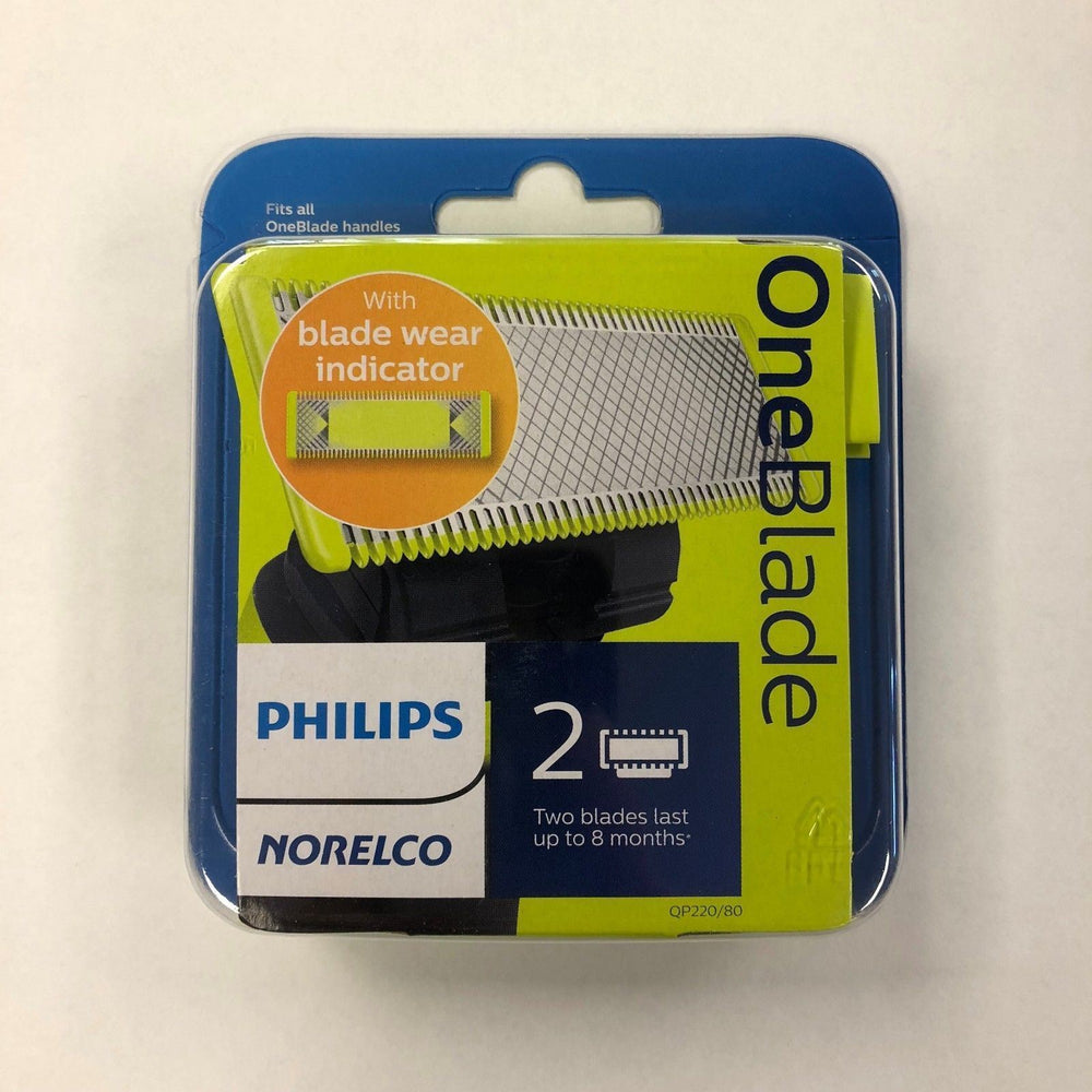 Philips Norelco OneBlade Replacement Blade, 2 Pack - QP220/80