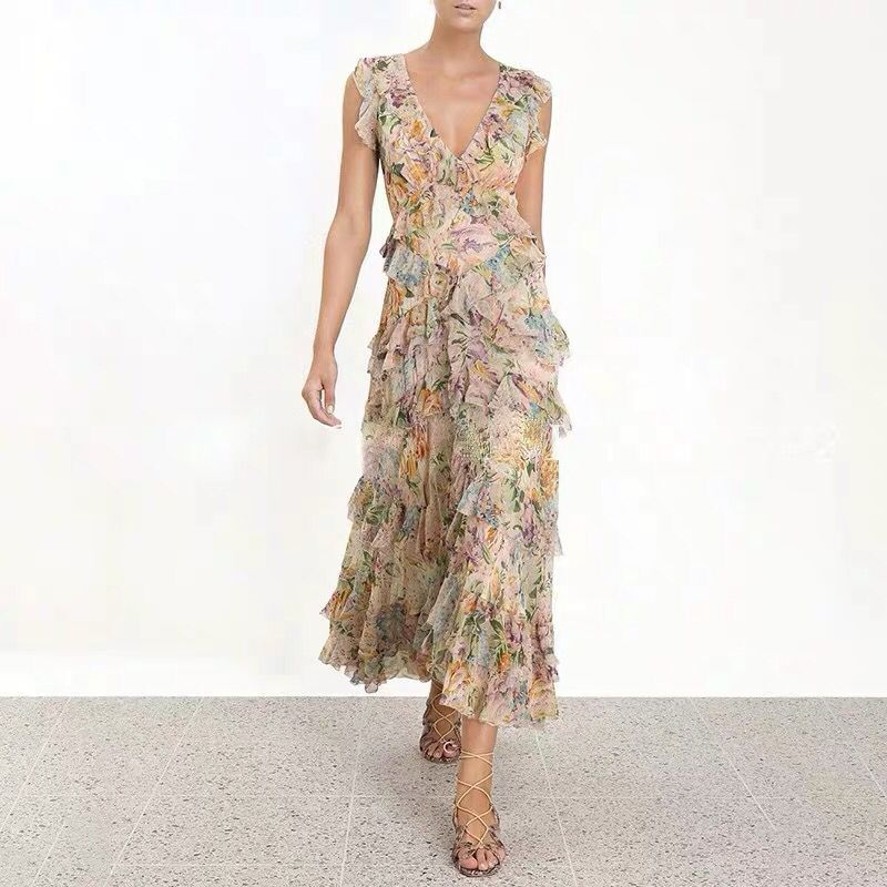FLOWERS IN ROME Dress