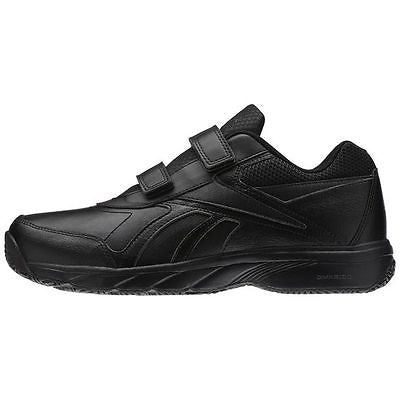 f8c7cdb9715 Reebok Mens Velcro Strap Extra Wide Walking Shoe Work N Cushion KC 2.0 4E