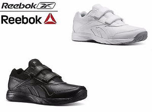Reebok Mens Velcro Strap Extra Wide Walking Shoe Work N