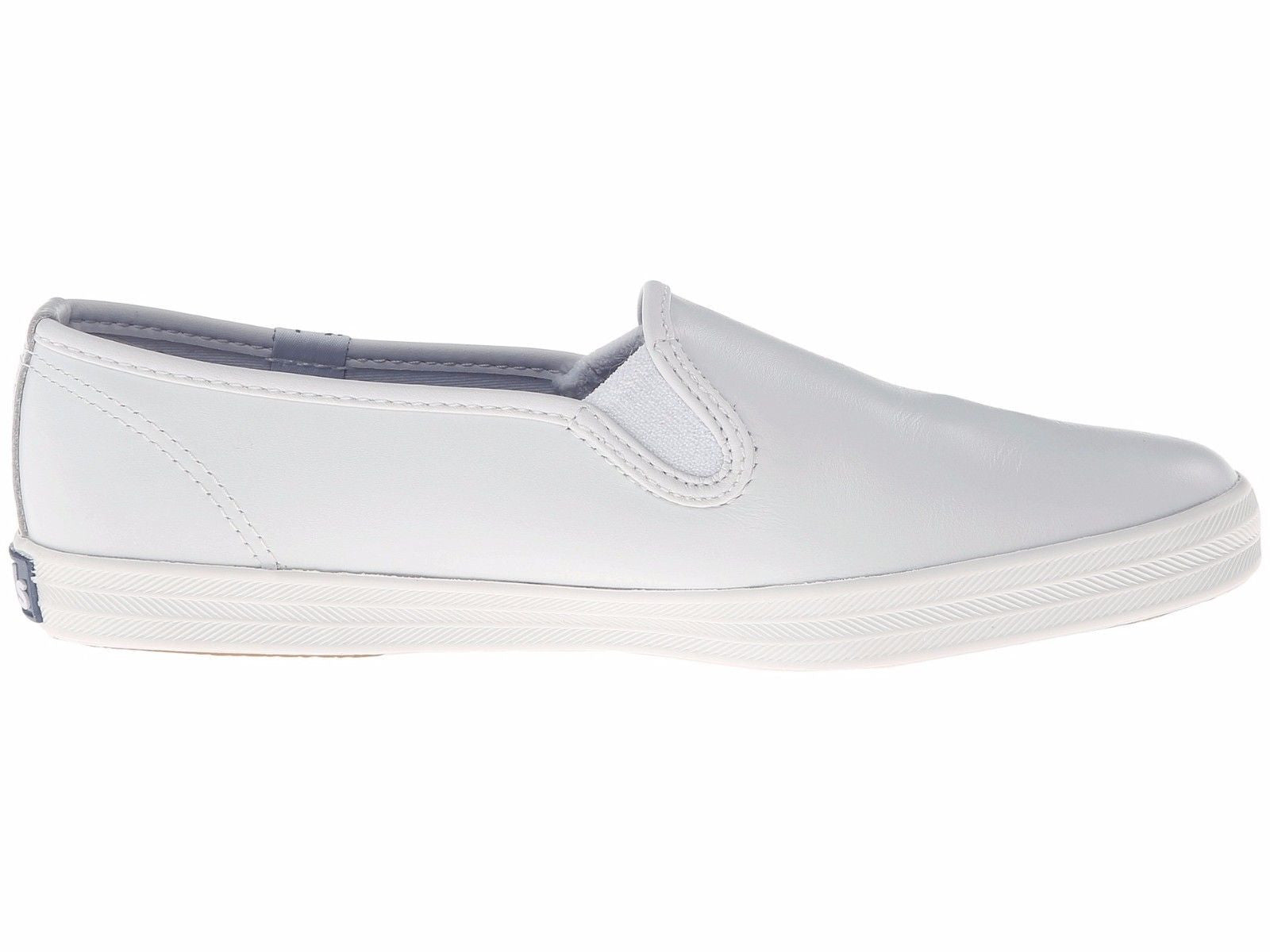 8d7434dde83 Keds Women s Classic Oxford Slip On Shoe Champion Slip On White Leather  WH48600