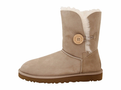 58cc62c6b9093 ... low price ugg womens leather suede boots button closure bailey button  sand 5803 b3a98 db613