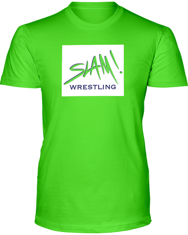 Slam! Wrestling Men's Fashion Tee