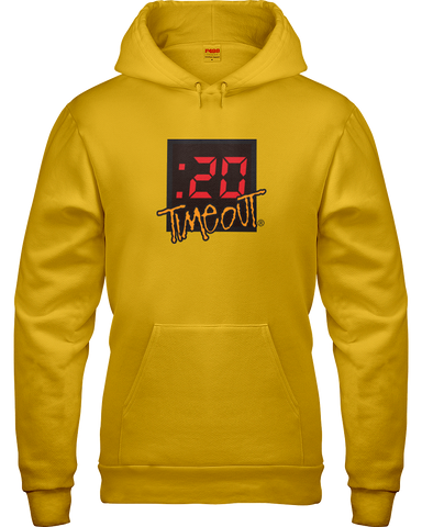 :20 Second Timeout Adult Hoodie