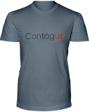 Contagus Mens Basic T Front/Back