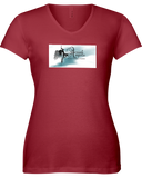 Aerial Angles Lady T V-Neck