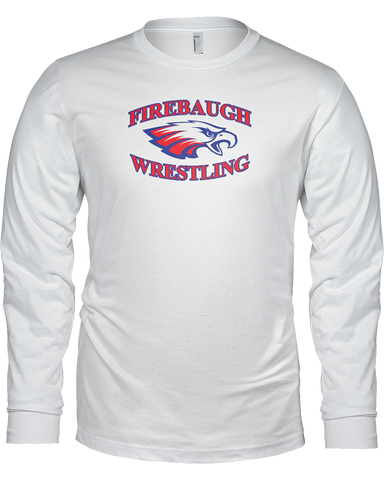 Firebaugh High Wrestling Ladies L/S Tee Shirt