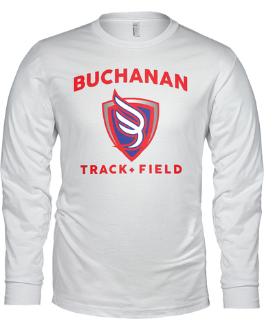 Buchanan Track & Field Men's L/S Tee