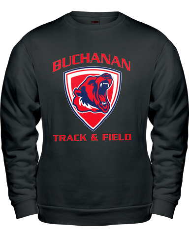 Buchanan Track & Field Classic Crew Neck Sweat Shirt