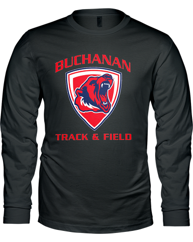 Buchanan Track & Field Classic Men's L/S Tee