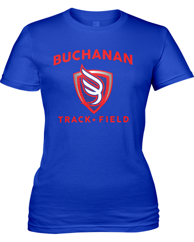 Buchanan Track & Field Women's Basic T-shirt