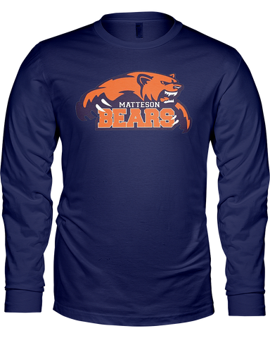 Matteson Bears Men's L/S T-Shirt