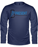B Present Ladies L/S T-Shirt