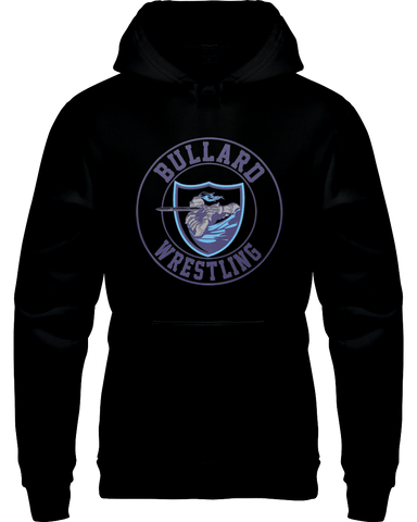 Bullard Wrestling Knight Hoodie W/Rear Shield