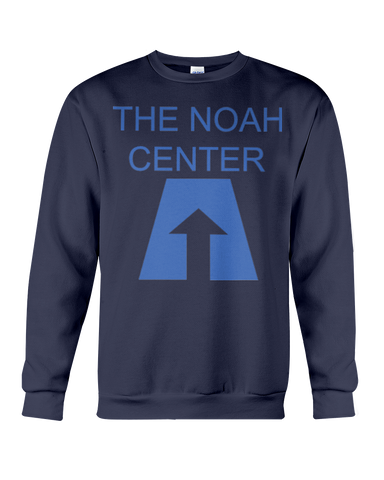 Noah Center Crew Neck Sweat Shirt W/Rear Logo