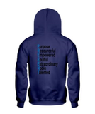 B Present Youth Hoodie Logo Front & Back