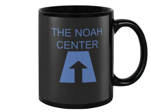 Noah Center Black Coffee Mug#1