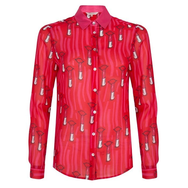 Lip Stick Blouse