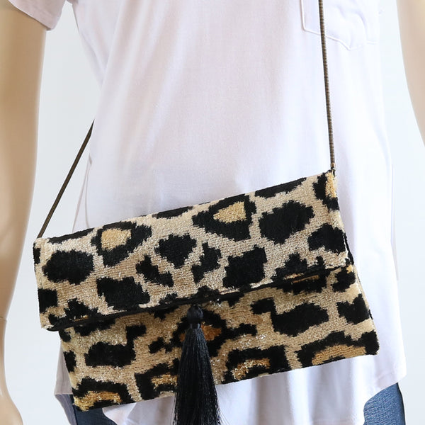 Velvet Silk Clutch &/Or Crossbody