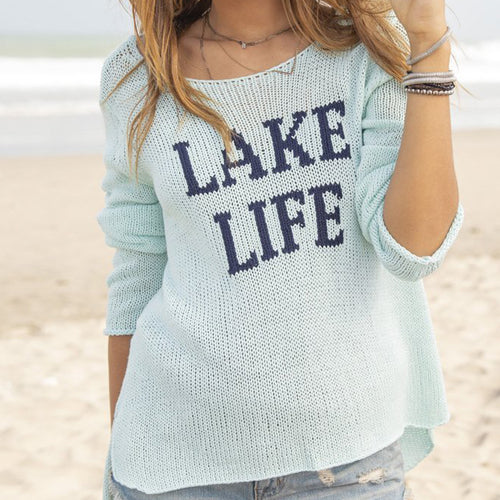 LAKE LIFE CREWNECK COTTON
