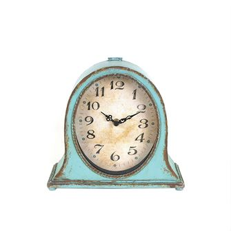 Aqua Mantel Clock