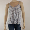 Cross Front Stripe Tank